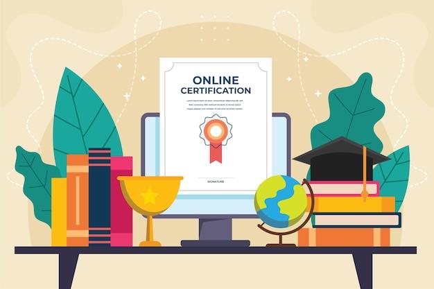 Concetto di certificazione online