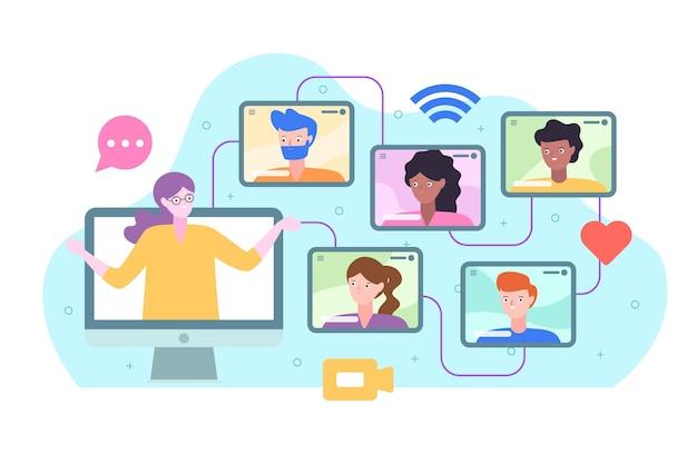 Concetto di corsi online