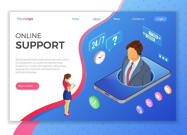 Assistenza clienti online con consulente