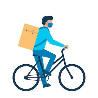 Servizio di consegna online, consegna a domicilio.