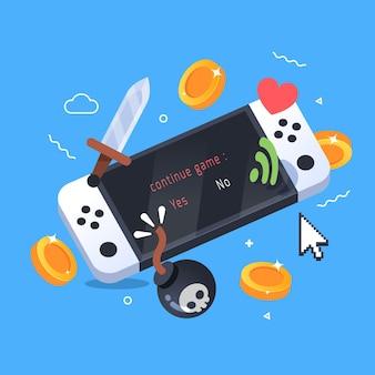 Concetto di giochi online