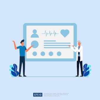 Servizio di assistenza sanitaria online e consulenza medica.