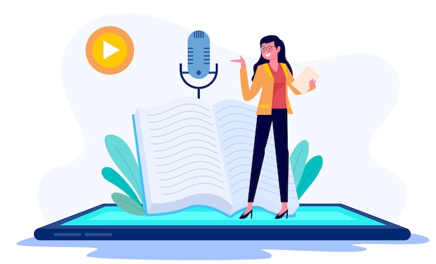 Concetto di illustrazione di apprendimento online