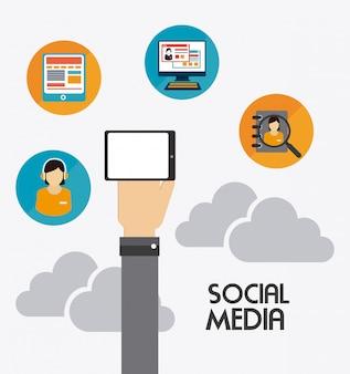 Progettazione di media online.