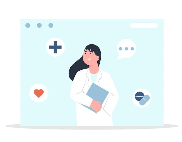 Consultazione medica in linea