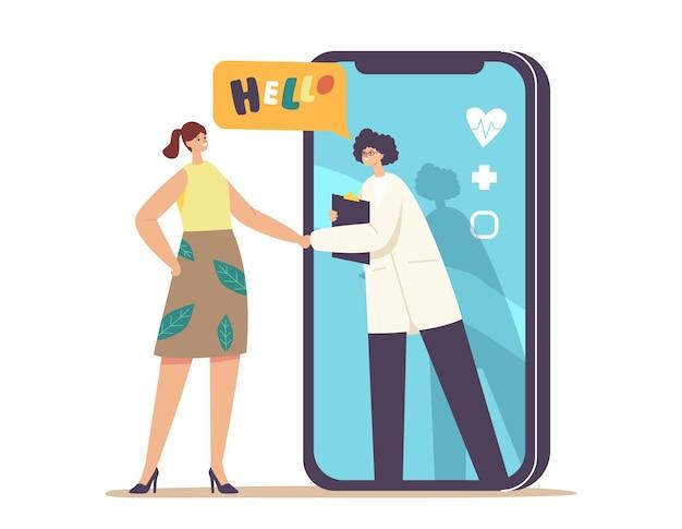 Medicina online consultazione medica a distanza, tecnologia intelligente