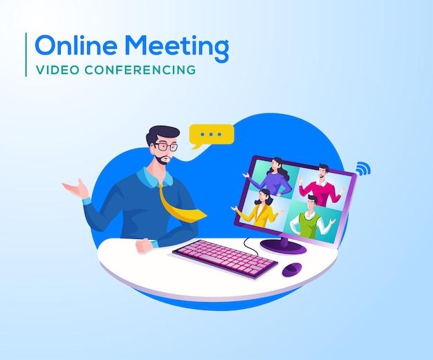 Riunione in linea e videoconferenza