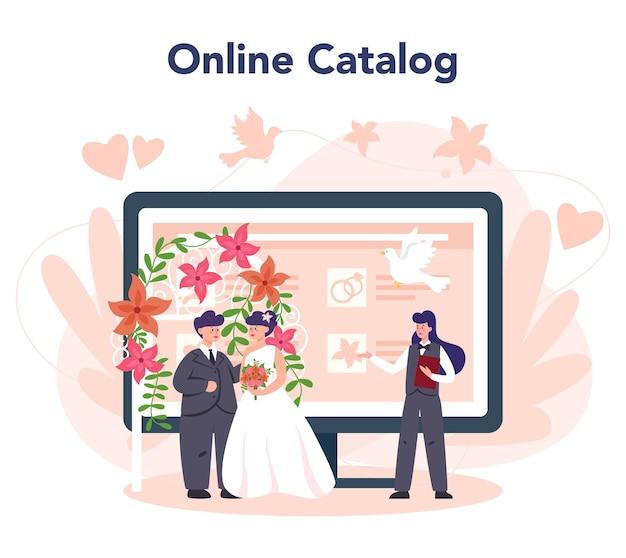 Modello di banner della piattaforma online