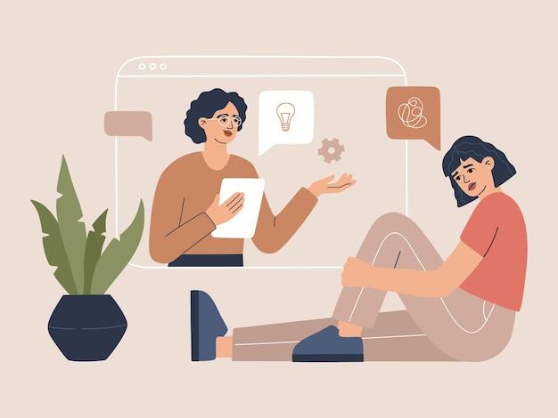 Psicoterapia online, consulenza psicologica