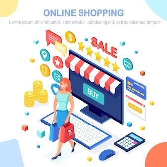 Banner dello shopping online
