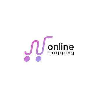 Logo dello shopping online