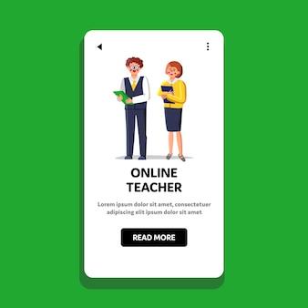 Lingua per insegnanti online o scuola di business
