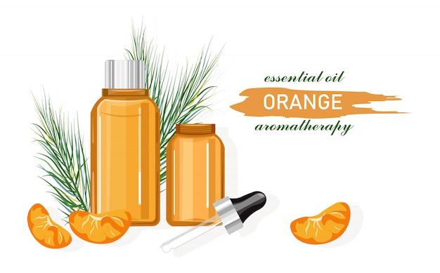Olio essenziale di arancia a base di frutta