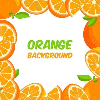 Cornice arancione
