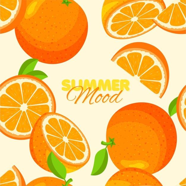 Reticolo senza giunte arancione summer