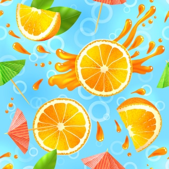 Arancione senza saldatura pattern