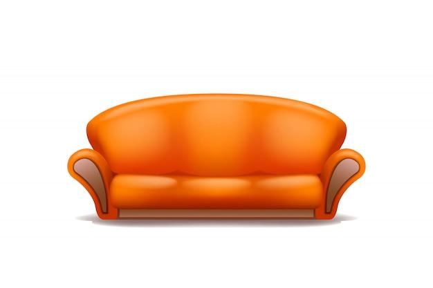 Divano arancione