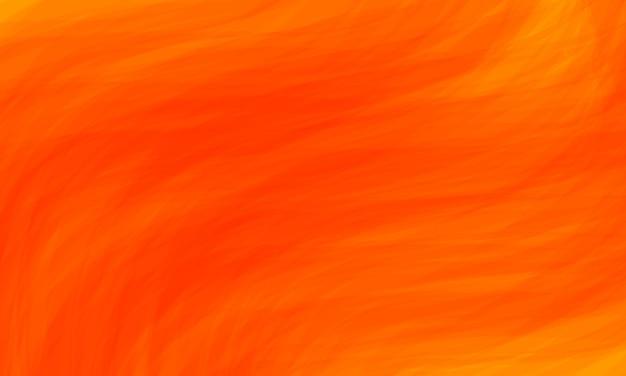 Sfondo acquerello arancione, sfondo astratto grunge e tratti di trama