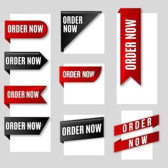 Ordina ora - raccolta di etichette