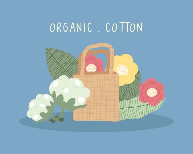 Prodotti in cotone biologico indumento ecologico