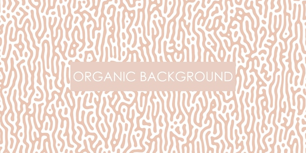 Carta da parati organica line art progettazione generativa di turing. stile minimal.