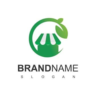 Logo del negozio biologico