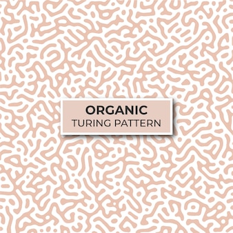 Modello di modello di turing organico
