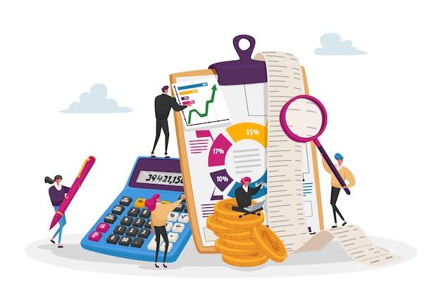 Organizzazione di dati contabili, finanziari, bancari.