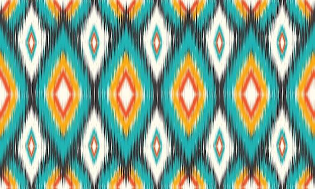 Fondo tradizionale di vettore del reticolo senza giunte etnico orientale design per moquette, carta da parati, abbigliamento, avvolgimento, batik, tessuto, stile di ricamo di illustrazione vettoriale.