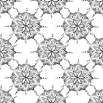 Reticolo senza giunte orientale - ornamento tradizionale coreano, giapponese o cinese. illustrazione vettoriale di sfondo per il tuo design.