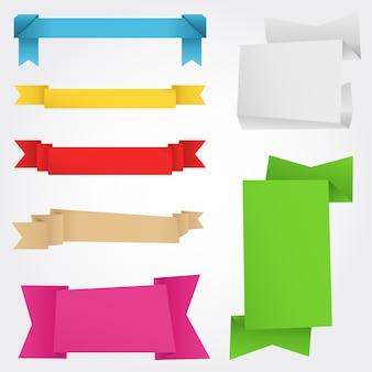 Banner di origami