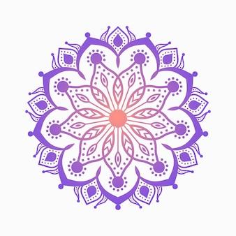 Ornamento colorato bellissimo mandala