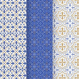 Collezione di motivi arabi ornamentali