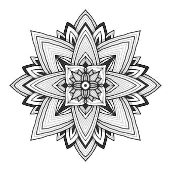Mandala ornamentale.