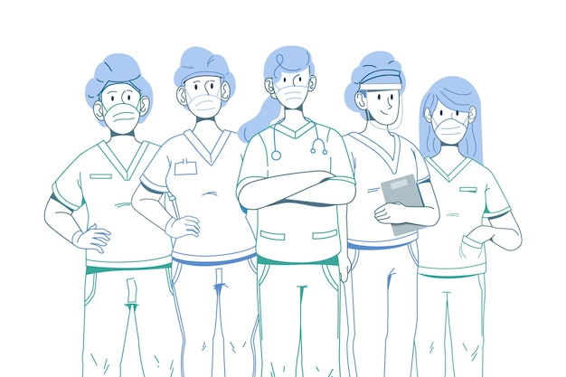 Delinea gli eroi del sistema medico