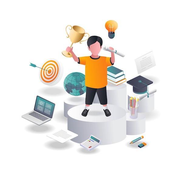 Studenti eccezionali portano trofei e premi