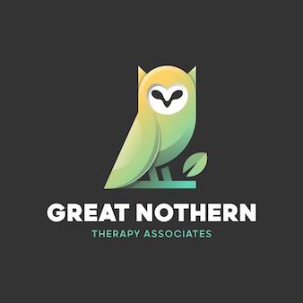 Logo foglia di gufo