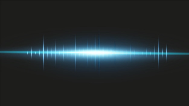 Pacchetto lenti orizzontali blu, abbagliamento, raggi laser, abbagliamento, raggi luminosi, strisce luminose.