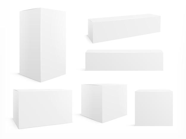 Set di scatole di imballaggio