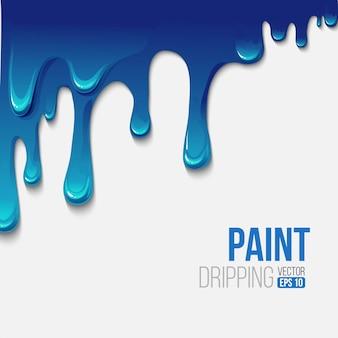 Dipingere sfondo colorato gocciolante