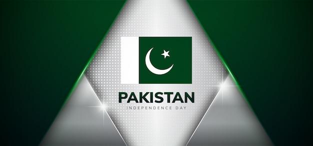 Giorno dell'indipendenza del pakistan con stile di lusso