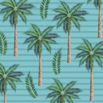 Sfondo di alberi di palme