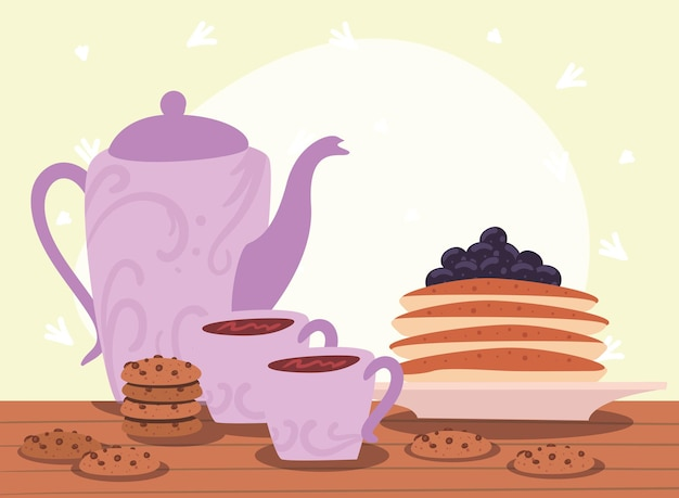 Pancake e caffè