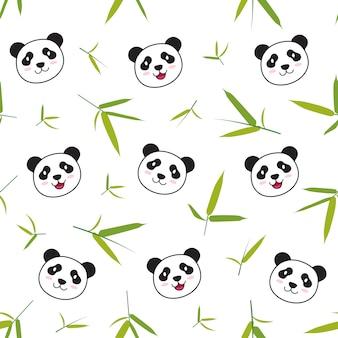 Panda animal pattern