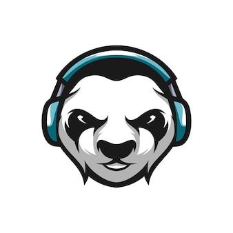 Disegno della mascotte del panda