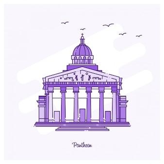 Punto di riferimento di pantheon