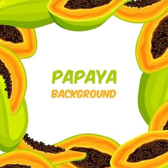 Cornice di papaya