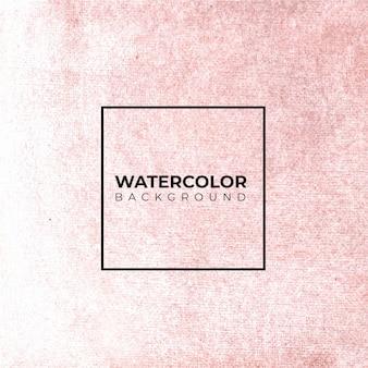 Sfondo di carta con acquerello colorato corallo o sfondo rosa.