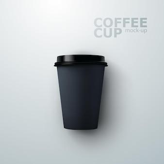 Mockup di tazza di caffè in carta