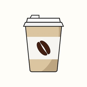 Tazzina da caffè di carta